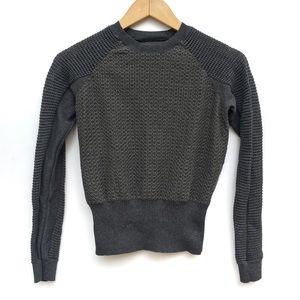 ALLSAINTS Metallic Trelone Pullover Sweater